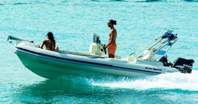 Alquiler de barcos Yamaha Evripus 5.40 enFterotí en Samboat