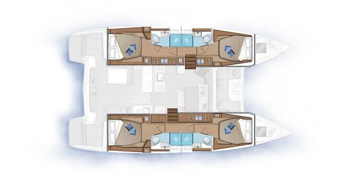 Alquiler Catamarán en Kaštel Gomilica - Lagoon Lagoon 46