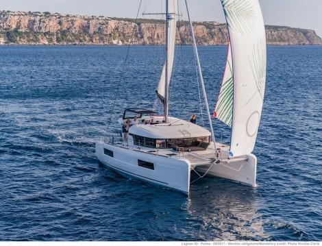 Alquiler Catamarán en Saint-Mandrier-sur-Mer - Lagoon Lagoon 40