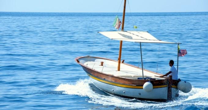 Alquiler Lancha en Positano - Fratelli Aprea Sorrento 7,50 open cruise