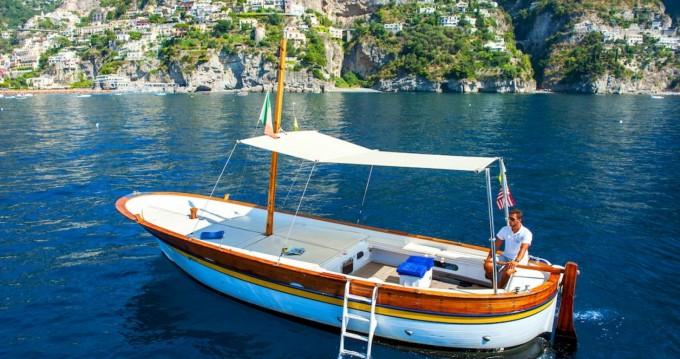 Alquiler de Fratelli Aprea Sorrento 7,50 open cruise en Positano