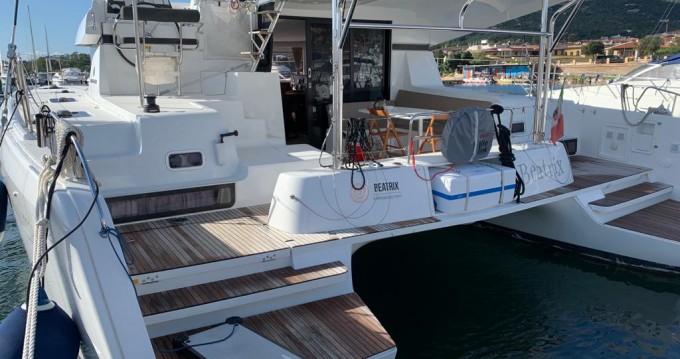 Alquiler de Catamarán, con o sin patrón Lagoon Cannigione