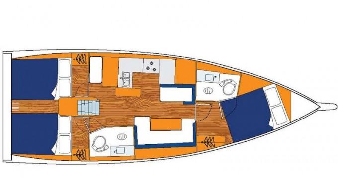 Alquiler de barcos Jeanneau Sunsail 41.0 enLefkada (Isla) en Samboat