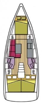 Alquiler de Bénéteau Oceanis 38.1 en Castiglioncello