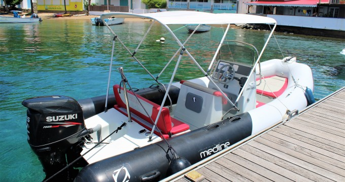 Alquiler de barcos Zodiac Medline 580 Color enBasse-Terre en Samboat