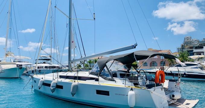 Alquiler de barcos Limassol barato de Sun Odyssey 490