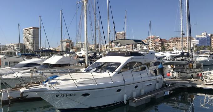 Lancha para alquilar Alicante al mejor precio
