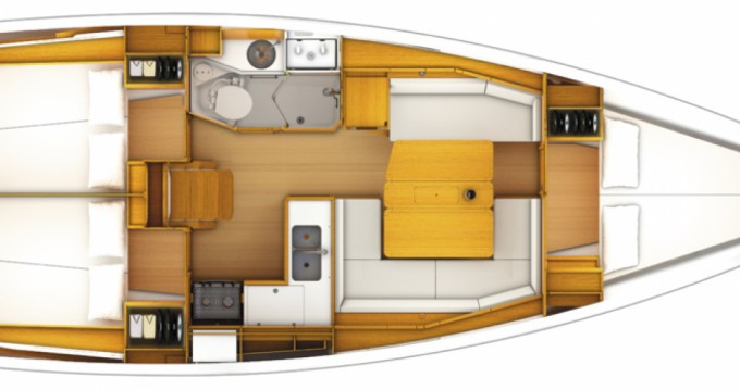 Jeanneau Sun Odyssey 349 entre particulares y profesional Lefkada (Isla)