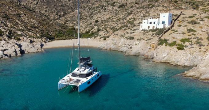 Alquiler de yate Santorini - Nautitech Nautitech 46 Fly en SamBoat