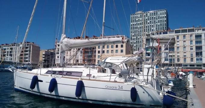 Alquiler de barcos Toulon barato de Oceanis 34 Elegance
