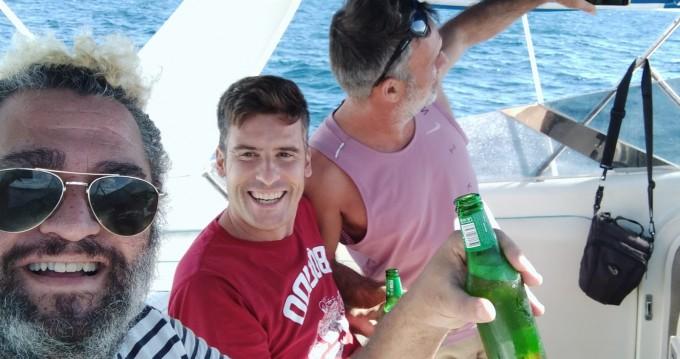 Alquiler Lancha Abbate con título de navegación