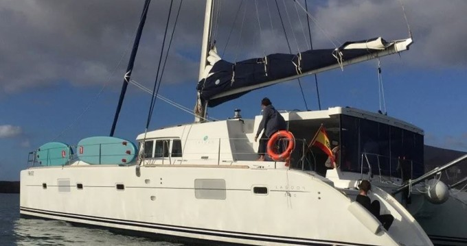 Alquiler de yate Ibiza (Ciudad) - Lagoon Lagoon 500 en SamBoat
