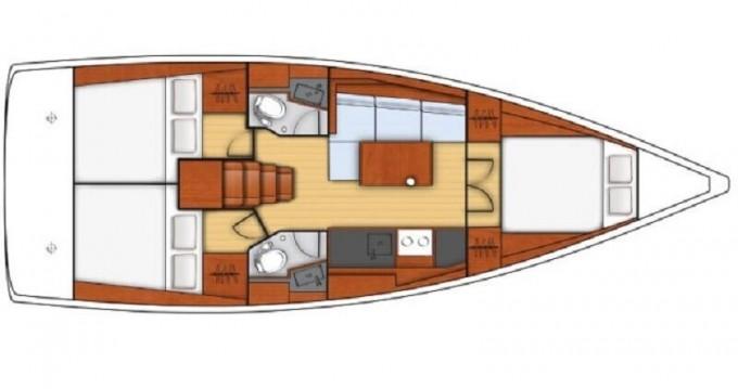 Alquiler de barcos Bénéteau Oceanis 38.1 enLimassol en Samboat