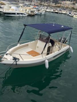 Alquiler Lancha Terminal Boat con título de navegación