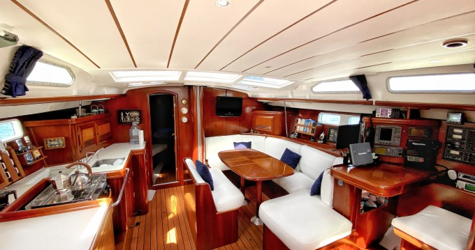 Alquiler de barcos Formentera barato de Oceanis 473