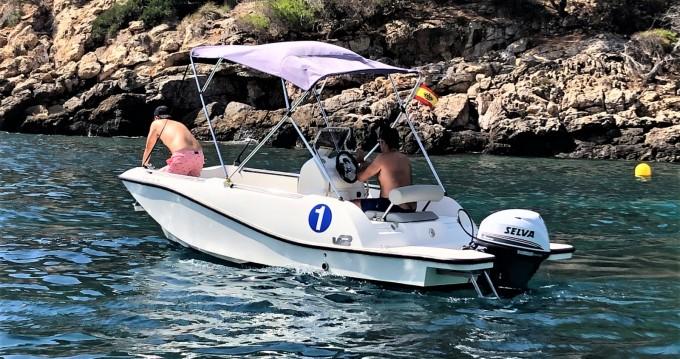 Alquiler de barcos Puerto de Pollensa barato de 5.0 SPORT