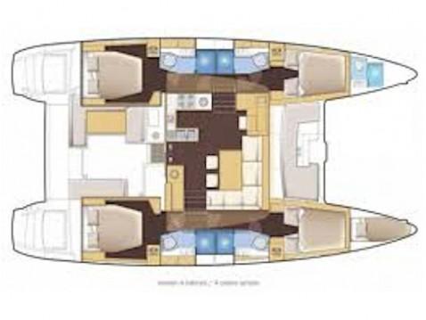 Alquiler Catamarán en El Pireo - Lagoon Lagoon 46