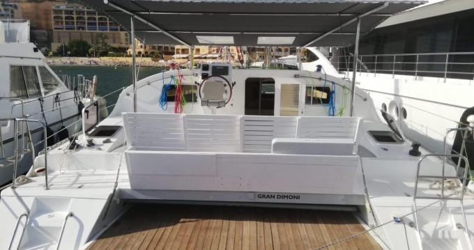 Alquiler Catamarán Fritz Dubois G. con título de navegación
