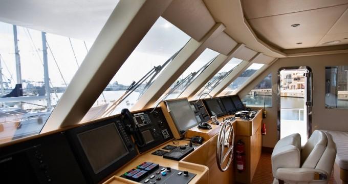 Alquiler Yate  con título de navegación