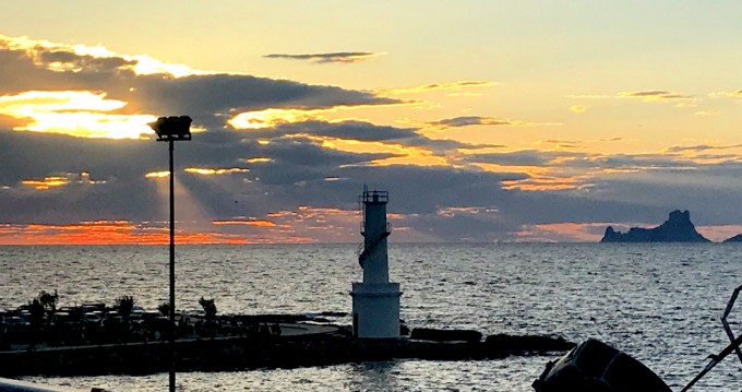 Alquiler de barcos Formentera barato de Capeador 43