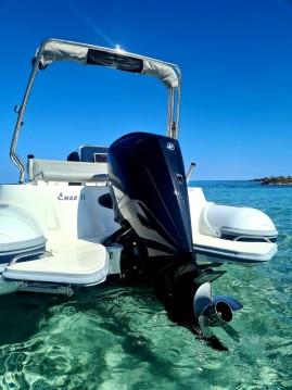 Motonautica-Vesuviana MV 780 Confort entre particulares y profesional Saint-Florent