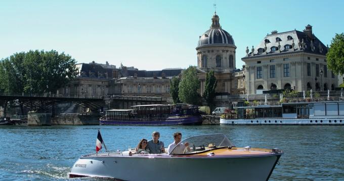 Alquiler de Lancha, con o sin patrón Tuscher Paris