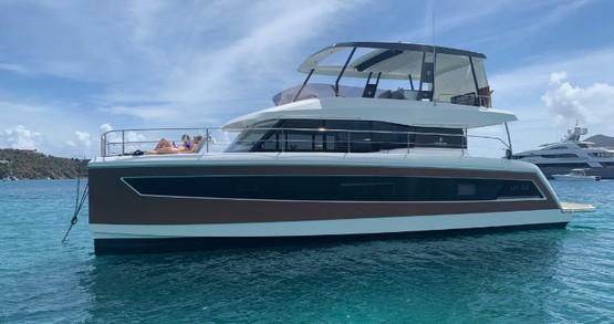 Alquiler Catamarán en Tortola - Fountaine Pajot My 44