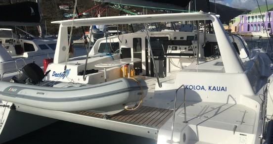 Alquiler de Voyage Voyage 480 en Tortola
