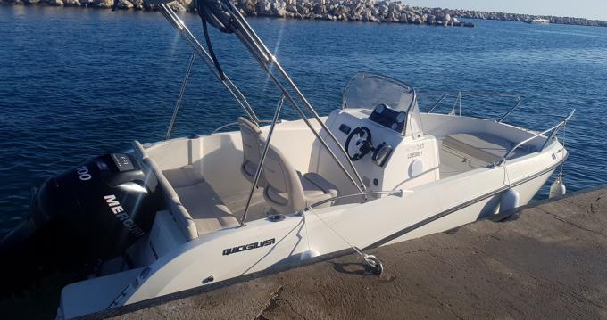 Alquiler Lancha en Marseille - Quicksilver 535 open
