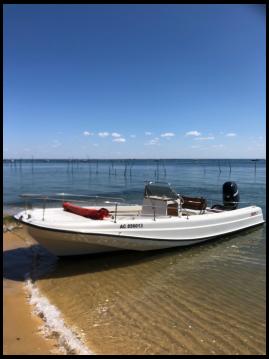 Alquiler de yate Lège-Cap-Ferret - Boston Whaler Boston Whaler 21 Outrage en SamBoat