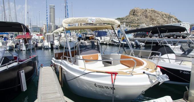 Alquiler de Lancha, con o sin patrón Allegra Boats Alicante