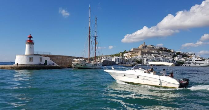 Alquiler de Lancha, con o sin patrón Capelli Isla de Ibiza