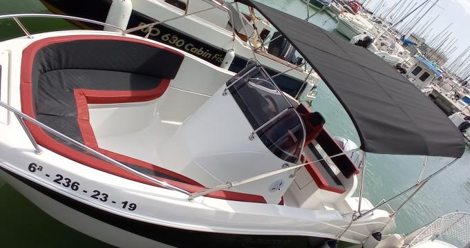 Alquiler de Barracuda okis boats en Port Ginesta