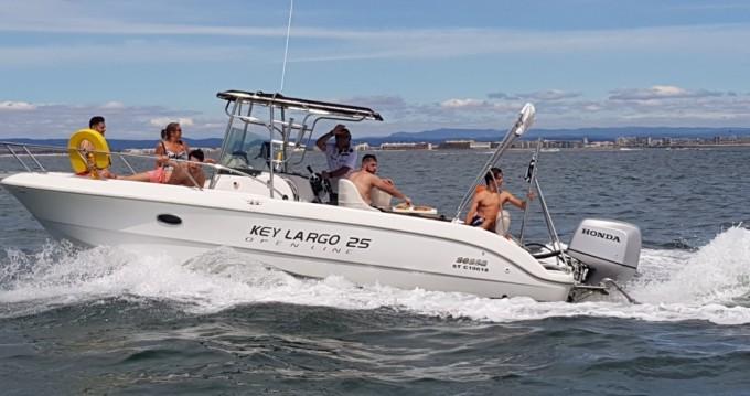 Alquiler de barcos Sessa Marine Key Largo 25 enPalavas-les-Flots en Samboat