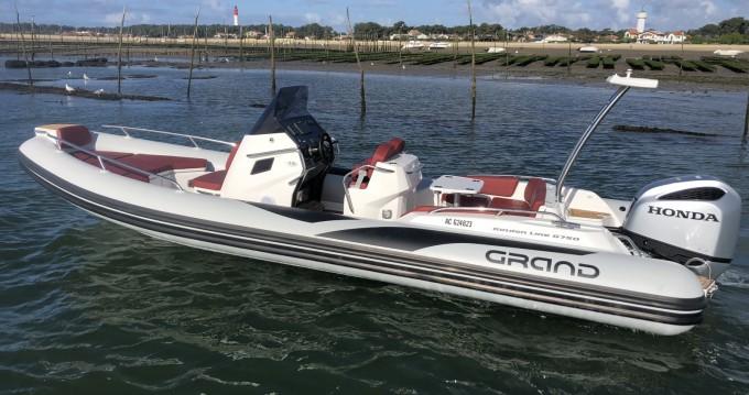 Alquiler de barcos Cap Ferret barato de Golden Line G750L