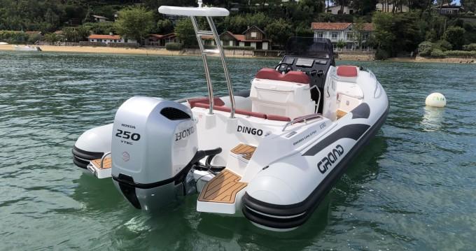 Alquiler de Grand Boats Golden Line G750L en Cap Ferret