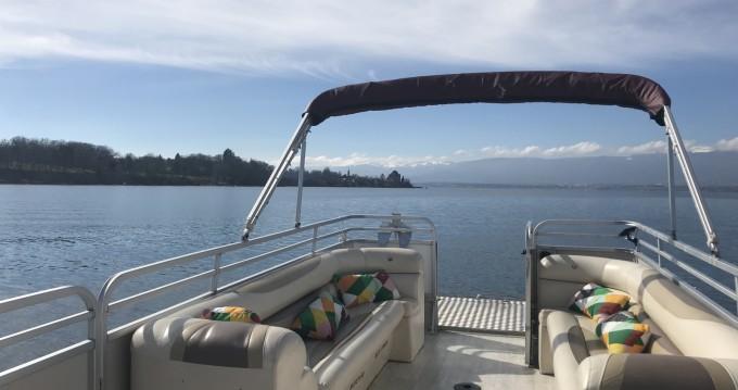 Alquiler de barcos Sciez barato de Bateau terrasse