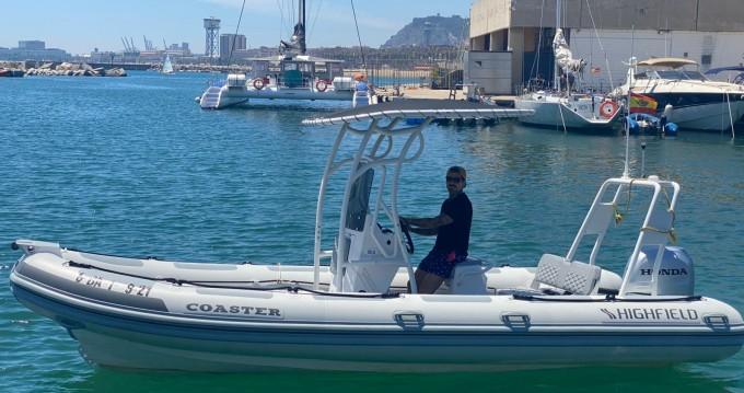 Alquiler de barcos Highfield Highfield Sport 650 enBarcelona en Samboat