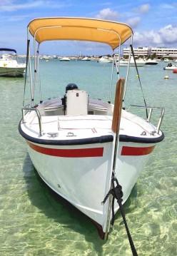 Alquiler de barcos Formentera barato de Gozzo 5 terre
