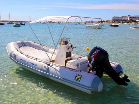 Alquiler de yate Formentera - Zodiac cherokee 480 en SamBoat
