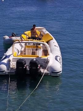 Alquiler Lancha alson 7.50 con título de navegación