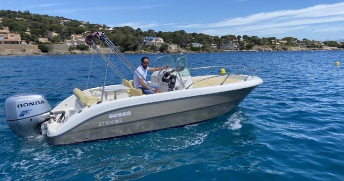 Alquiler Lancha en Fréjus - Sessa Marine Key Largo 20 Deck