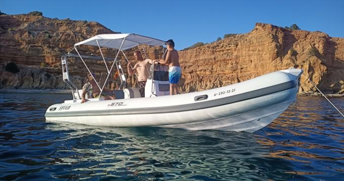 Alquiler Neumática en Isla de Ibiza - Selva Evolution D.570