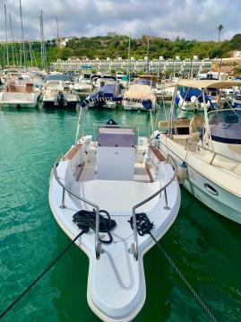 Alquiler Lancha Seawind con título de navegación