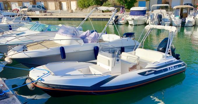 Alquiler de barcos Bormes-les-Mimosas barato de Zar 53