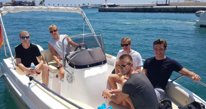 Alquiler de Marinello Fisherman 16 en Alicante
