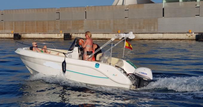 Alquiler de barcos Alicante barato de Fisherman 16