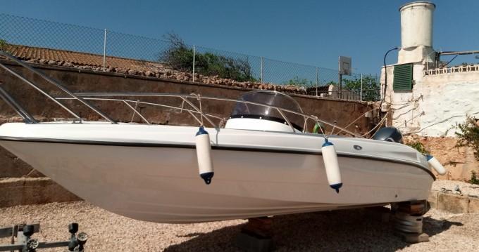 polyeste yacht Marion 630 cabine entre particulares y profesional Ciutadella