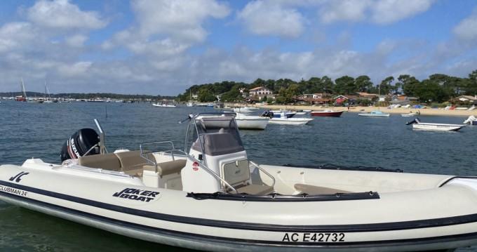 Alquiler de Joker Boat Clubman 24 en Lège-Cap-Ferret