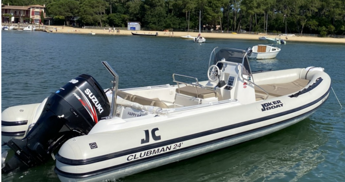Alquiler Neumática Joker Boat con título de navegación